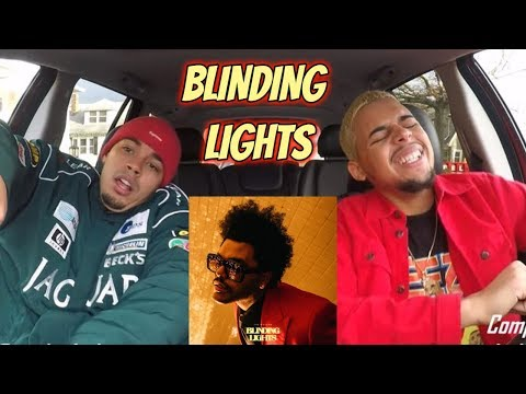 THE WEEKND - BLINDING LIGHTS (AUDIO) REACTION REVIEW