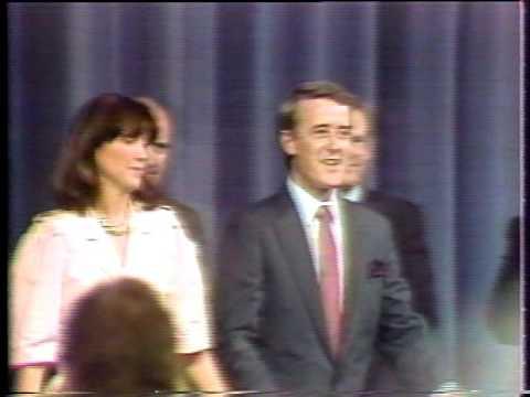 Le téléjournal de Radio Canada 1984,, Jean Ducharme, Brian Mulroney,vol 2