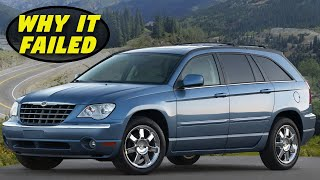Chrysler Pacifica Crossover - History, Major Flaws, & Why It Got Cancelled So Fast (2004-2008)
