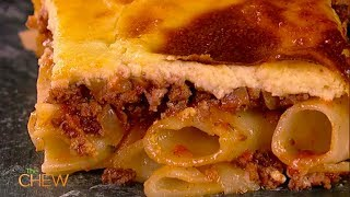 Michael Symon's Greek Pastitsio Recipe | The Chew
