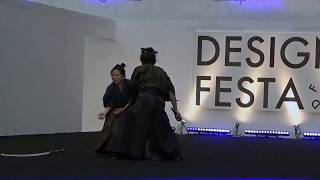 2018年11月10日に行われたデザインフェスタのショーステージにて撮影。(...
