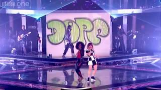 Will I am Leah McFall and Cleo Higgins  Rapture LIVE  HD  2013