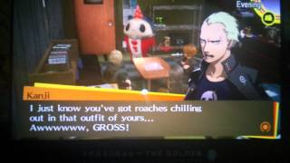 PERSONA 4: GOLDEN - Christmas Eve Party with Yosuke, Kanji and Teddie voiced scene