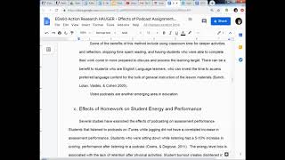 Masters Vlog 43 Organizing a Literature Review and Beginning the Summary