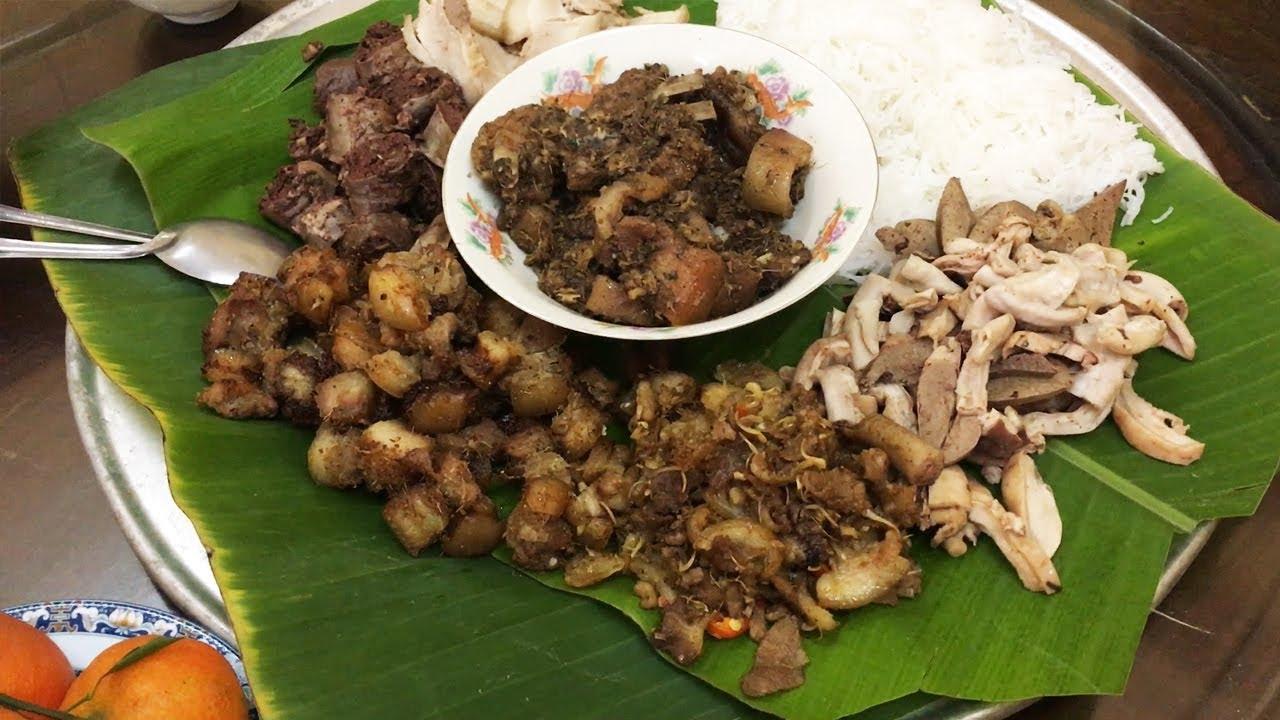 Ngon khó cưỡng với món thịt lợn mán thơm lừng | Ẩm thực Hà Nội