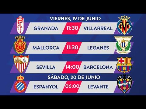 🇪🇸Jornada 30: Partidos y horarios de La Liga Santander 2019/20 from YouTube · Duration:  2 minutes 7 seconds