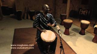 Djembe Solo by Master Drummer: M