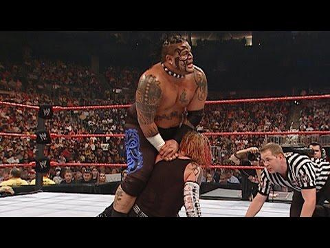 Intercontinental Champion Umaga vs. Jeff Hardy: Raw, Sept. 3, 2007 on WWE Network