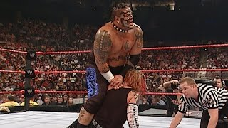 Intercontinental Champion Umaga vs. Jeff Hardy: Raw, Sept. 3, 2007 on WWE Network