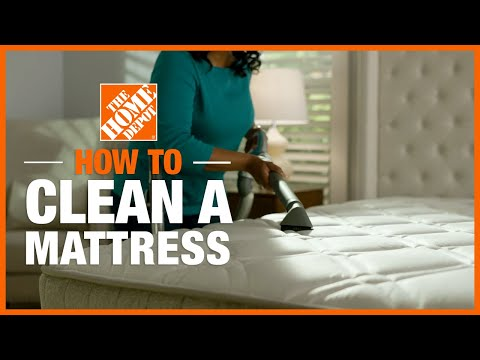 How To Clean A Mattress | Cleaning Tips | The Home Depot
