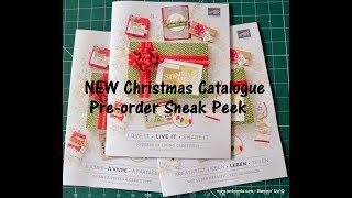 No.410 - NEW Christmas Catalogue Sneak Peek - UK Stampin' Up! Independent Demonstrator