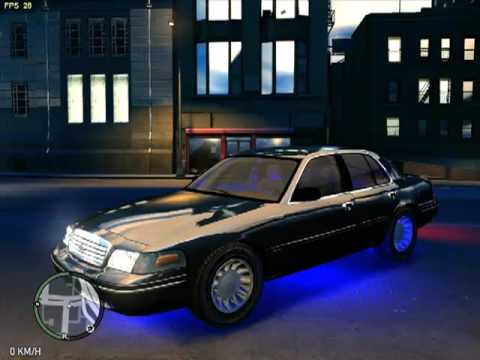 Grand Theft Auto Iv Ford Crown Victoria 2003 Youtube