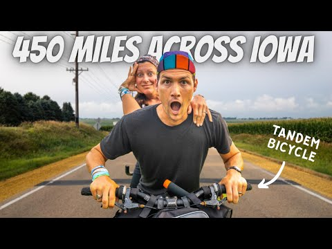 THE ULTIMATE MARRIAGE TEST (450 miles on a tandem bicycle) thumbnail