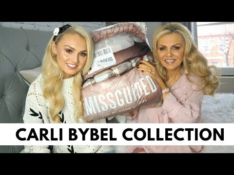 Missguided Haul | Carli Bybel Collection with Mumma Grimes