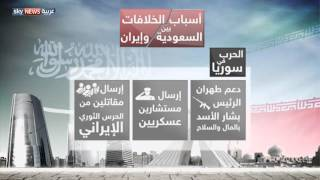 أسباب الخلاف بين السعودية وإيران