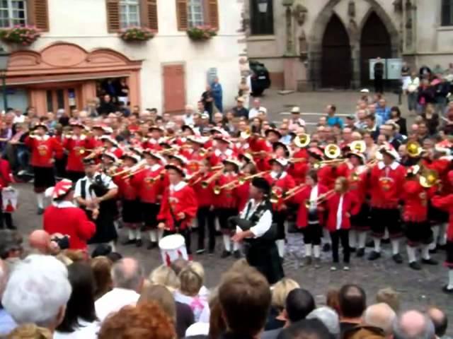 Pfifferdaj 2012 - Fanfarenzug Obermarchtal ( Rechtenstein - Allemagne )