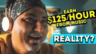 Earn $20 Per Song | Reality of EARN MONEY by LISTENING TO MUSIC?