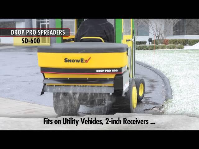 SnowEx Drop Pro 600 & 1400 Salt Spreaders
