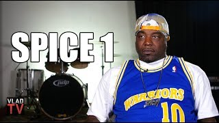 Spice 1 on 2Pac Rolling a Bloody Blunt After Being Shot so He Could