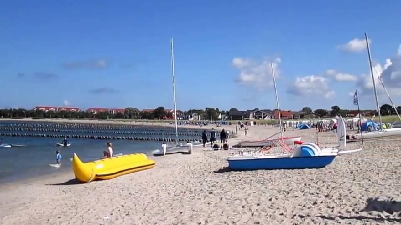 Glowe auf Rügen - der Strand - YouTube  Glowe auf Rüge...