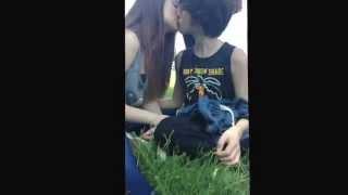 Me kissing my boyfriend ❤️❤️