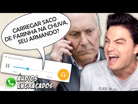 ÁUDIOS DE WHATSAPP - DESAFIO NÃO RIR