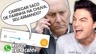 ÁUDIOS DE WHATSAPP - DESAFIO NÃO RIR!