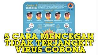 Tribun-medan.com - badan nasional penanggulangan bencana (bnpb) memberikan 5 tips pencegahan virus corona. dilansir dari akun instagram @bnpb_indonesia diseb...