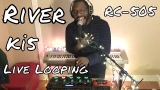 Leon Bridges || River || Live Vocal Looping || BOSS RC-505 || Ki5
