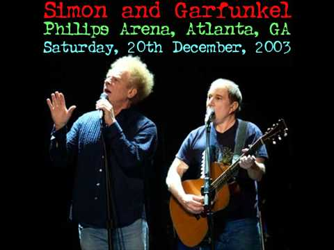 At the zoo -- Simon and Garfunkel Philips Arena Live 2003