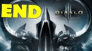 Diablo 3 Reaper of Souls ENDING Final Boss Fight Credits Walkthrough Gameplay monk [HD]