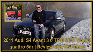 Review and Virtual Video Test Drive In Our 2011 Audi S4 Avant 3 0 TFSI V6 S Tronic...