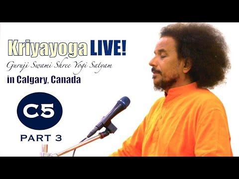 Kriyayoga LIVE 04-03-2018 7pm (C05) Calgary Program, Class #5, PART 3