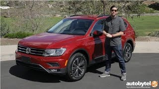 2018 Volkswagen Tiguan SE Test Drive Video Review