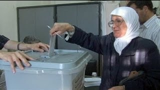 Syriens Oppositionelle fordern Wahlboykott