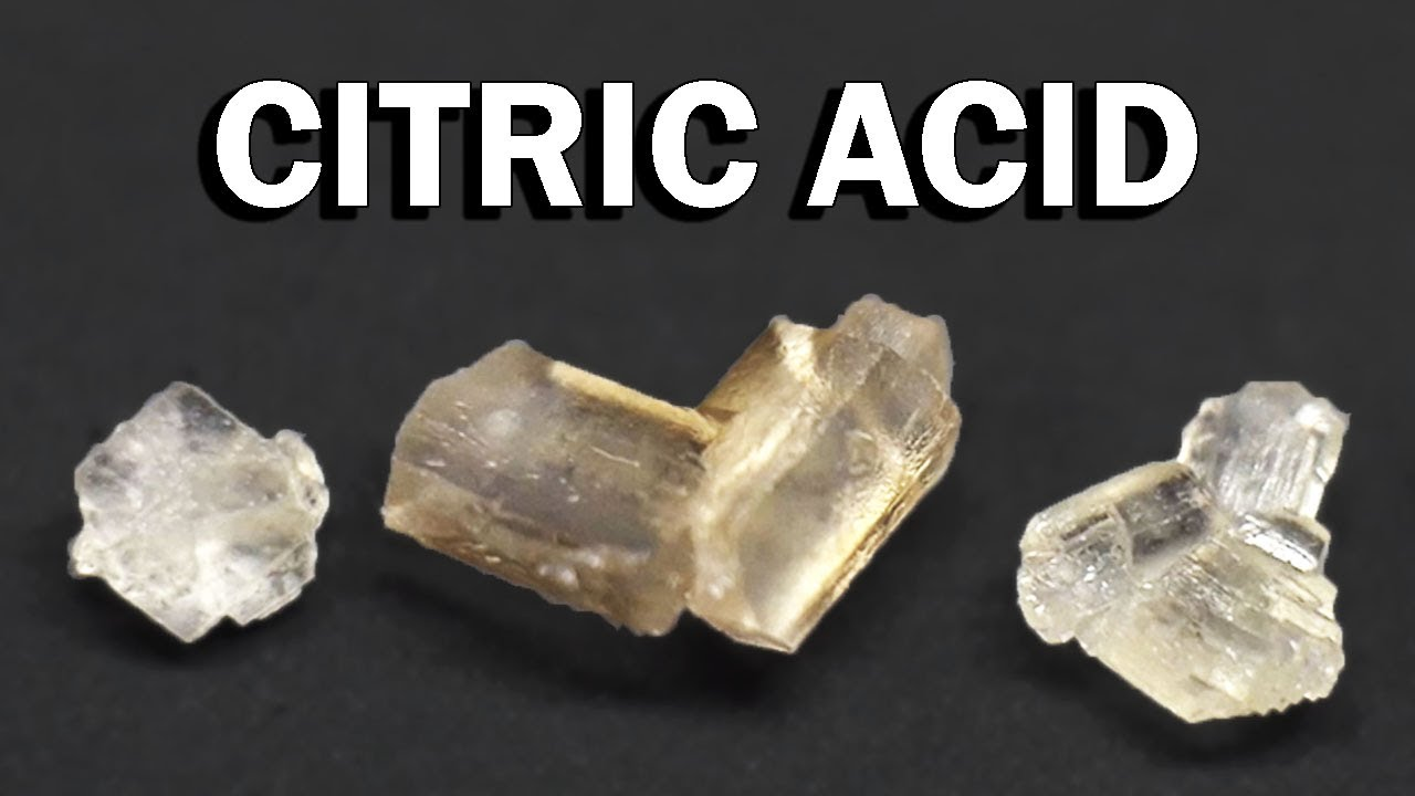 citric acid crystals uses