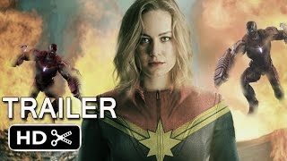 Captain marvel trailer comic con leaked footage