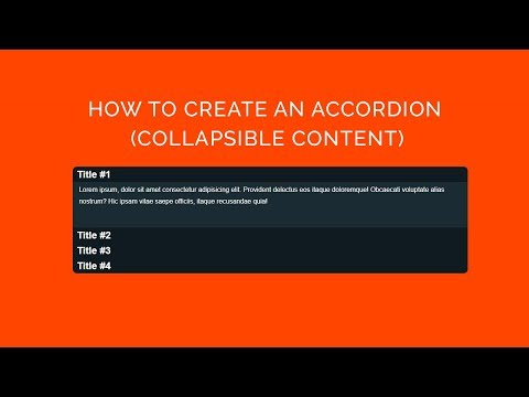 awesome CSS accordion menu - html5 , css3 & jquery | ARDEV