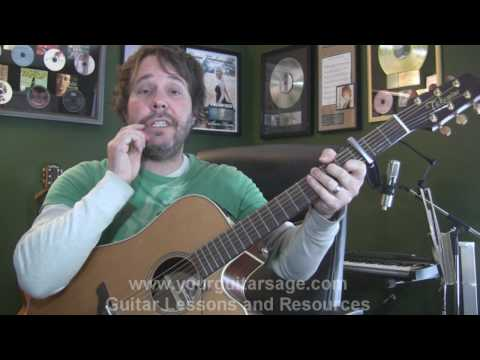Move Along by All American Rejects - Guitar Lessons for Beginners Acoustic songs AAR
