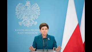 Beata Szydło o decyzjach podjętych podczas posiedzenia Rady Ministrów thumbnail