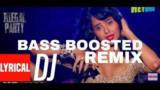 Saiyan Maare ATTITUDE | MERA GAANA BAJADE | DJ FULL LYRICAL VIDEO| REMIX | BASS BOOSTED | DJ