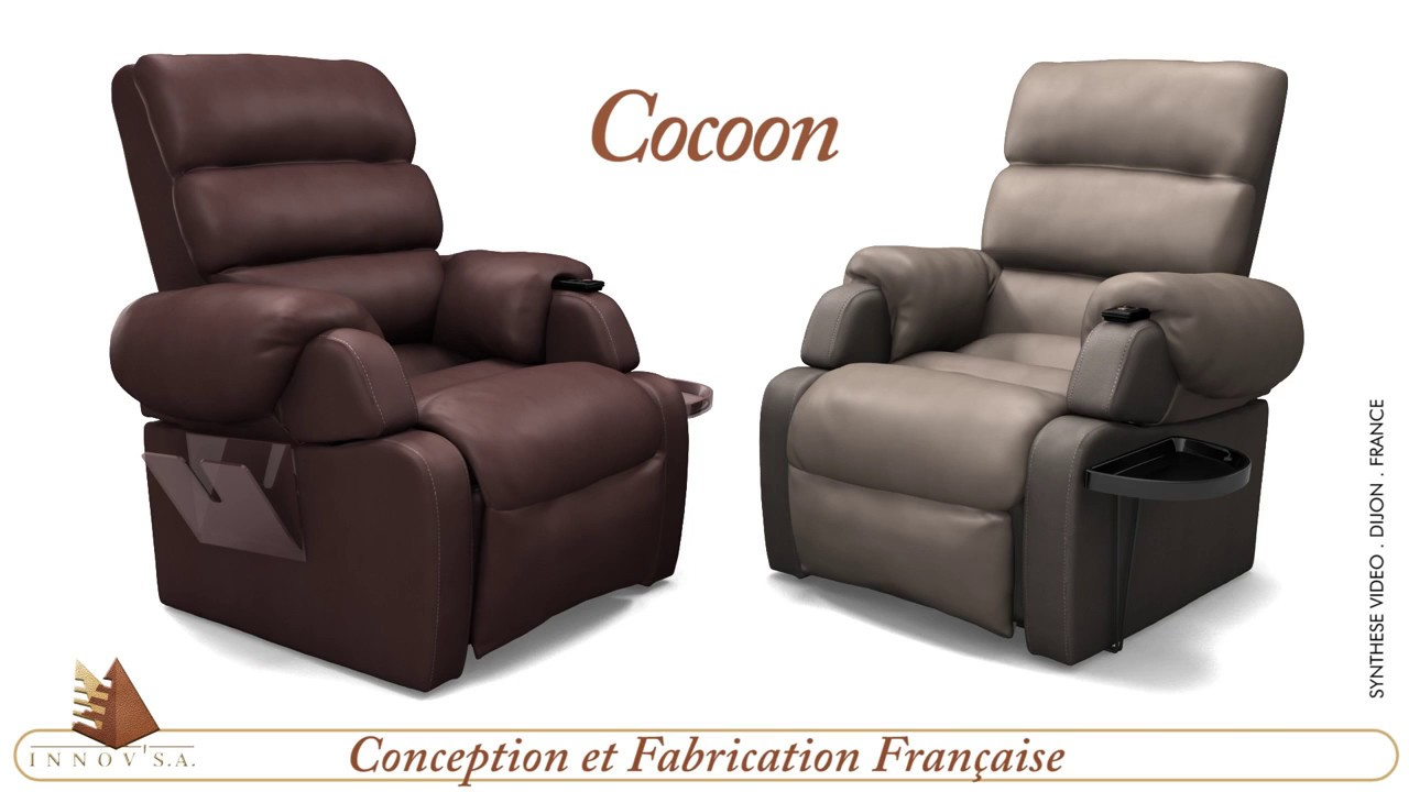 INNOVSA Le Fauteuil Releveur Cocoon YouTube - Fauteuil releveur cocoon