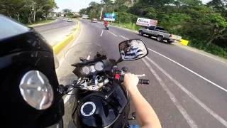Gopro Hero3+ Suzuki V-Strom Benelli Trek 899 Trujillo-Venezuela