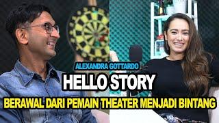 Hello Story - Alexandra Gottardo Berawal Dari Theater Kini Menjadi Bintang