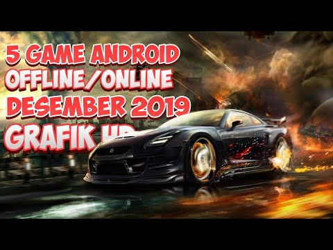 Top 5 Game Android Terbaik Desember 2019 & Awal Januari 2020 Offline/Online - Best Grafik Full HD - 동영상