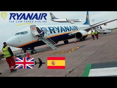 Flight Review Ryanair B737-800 EL-DPW East Midlands to Valencia 08/05/2017