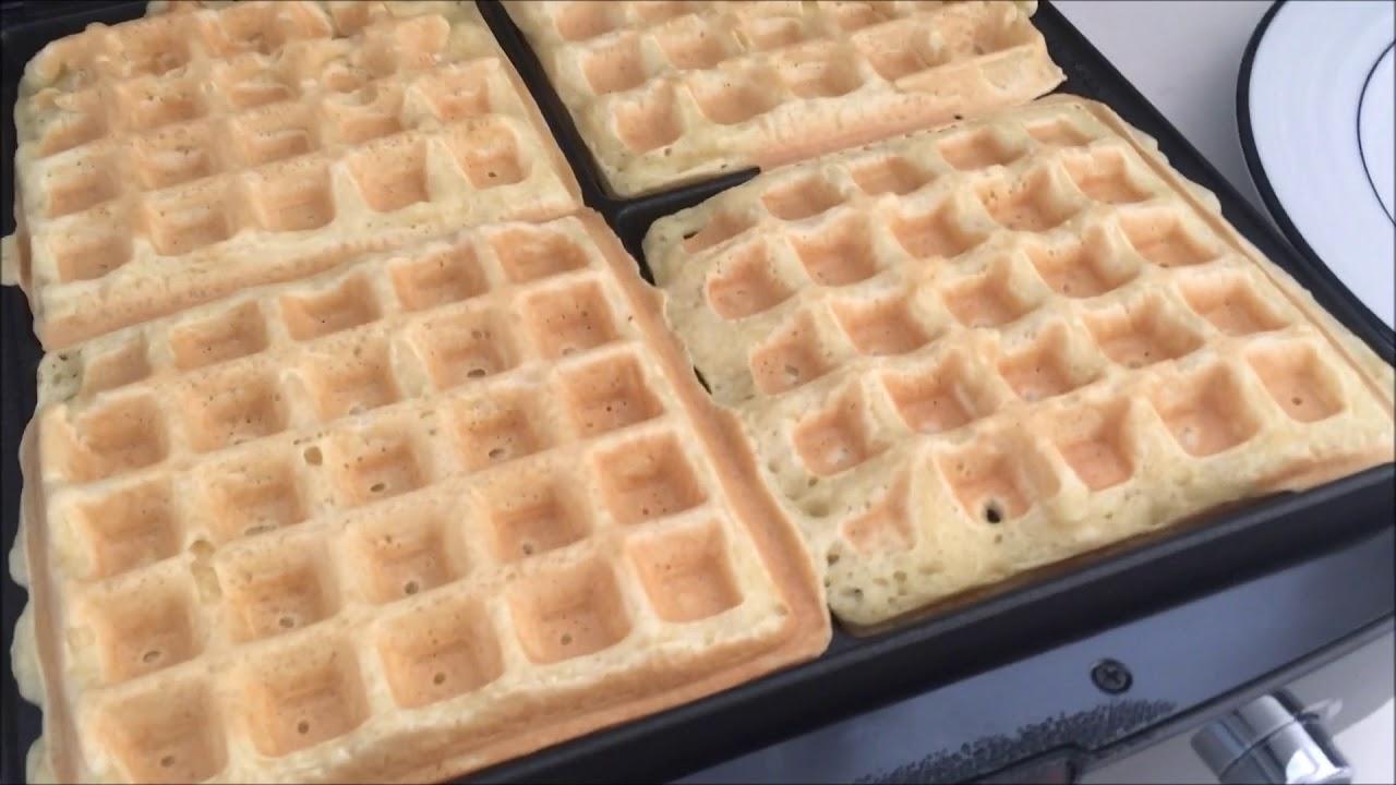 Krups Type 654 Waffle Maker ~ 4 Slice Belgian Waffle Maker