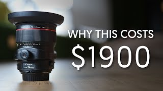 Why It's Expensive - Tilt Shift Lenses + Intro to How They Work ft. TS-E 24mm F3.5L (Ep. 4)