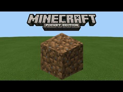 Как быстро ставить блоки в Minecraft PE