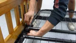 Futon Frame Assembly Video Steps 5 & 6